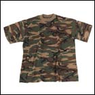 MFH US T-Shirt (160g/m²), US Woodland - Gr. XL