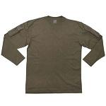 MFH US Shirt mit Ärmeltaschen, langarm, olive - Gr. L