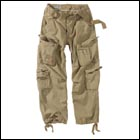 S&T Airborne Vintage Trousers sand Gr. S
