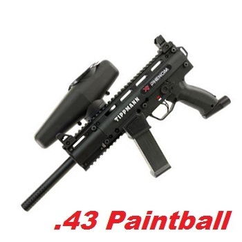 TIPPMANN X7 Phenom Mechanical Cal .68 Paintball Marker - Black