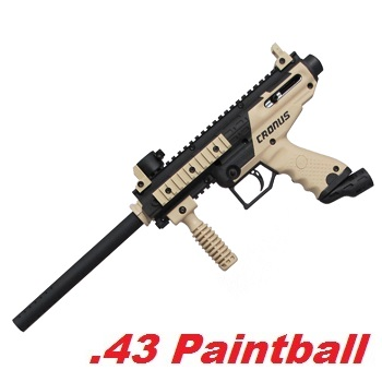 TIPPMANN Cronus Cal .68 Paintball Marker - Black