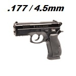 ASG x CZ CZ75D Compact Co² NBB 4.5mm BB - Black