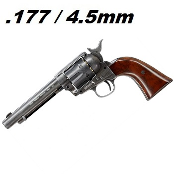 "Colt S.A.A. .45 ""Peace Maker"" Co² Revolver 4.5mm Diabolo - Aged"