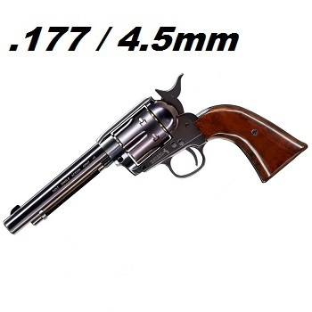 "Colt S.A.A. .45 ""Peace Maker"" Co² Revolver 4.5mm BB - Blue Steel"