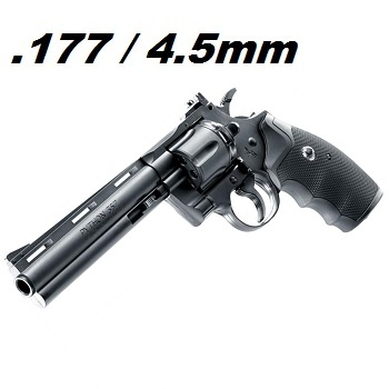 "Colt Python 6"" Co² Revolver 4.5mm Diabolo & BB"