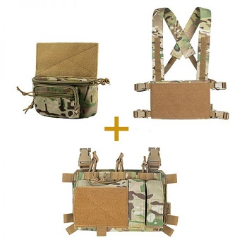 OneTigris ® Chest Rig Panel System Set - MultiCam