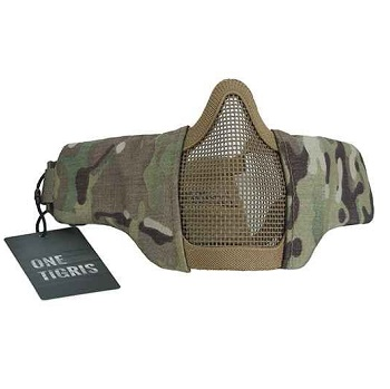 "OneTigris ® ""SCREAM\"" Schutzmaske, Medium - MultiCam"