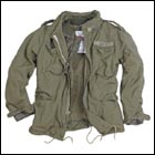 S&T Surplus M65 Regiment Jacke oliv - Gr. S