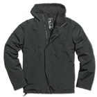 Windbreaker Zipper, Schwarz - Gr. S