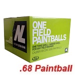 Cal .68 New Legion One Paintballs - 2'000rnd
