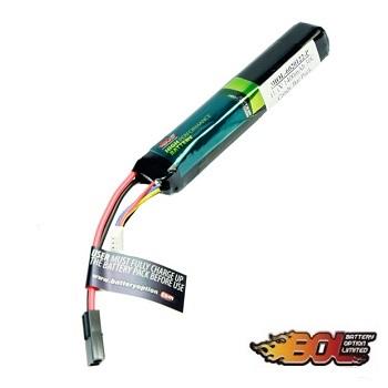BOL 11.1v LiPo 1400mAh 30C Stick-Type