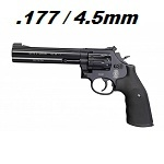 Smith & Wesson 586 Magnum 6inch Co² 4.5mm Diabolo - Black
