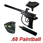 New Legion Riot Cal .68 Paintball Marker Einsteigerset