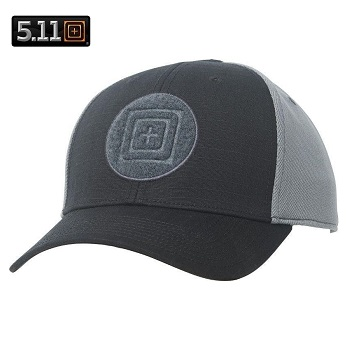 5.11 ® Downrange Cap 2.0, Black - Gr. L/XL