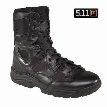 "5.11 ® Waterproof TacLite 8"" Boots, Black - Gr. 45"