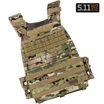5.11 ® Tactec Molle Plate Carrier - MultiCam