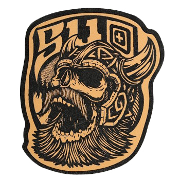 5.11 ® Viking Patch - Brown Leather