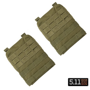5.11 ® TacTec Molle/SAPI Side Panels for Plate Carrier - TAC OD
