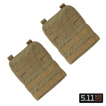 5.11 ® TacTec Molle/SAPI Side Panels for Plate Carrier - Sandstone