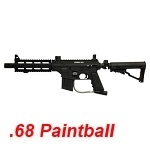 TIPPMANN Sierra One Tactical Cal .68 Paintball Marker - Black