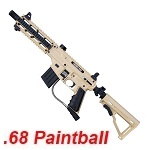 TIPPMANN Sierra One Tactical Cal .68 Paintball Marker - FDE