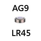 1.5V Batterie AG9/LR45