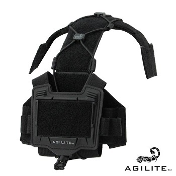 Agilite ® Bridge Tactical Helmet Accesories Plattform - Black