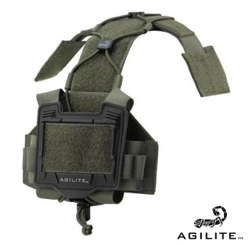 Agilite ® Bridge Tactical Helmet Accesories Plattform - Ranger Green