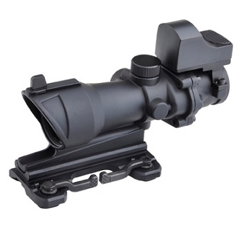 Aim-O ACOG 4x32 QD Scope & miniRedDot - Black