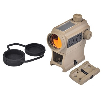 Aim-O T-1 (Solar & Battery) RedDot Set - Desert