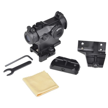 Aim-O T-2 QD RedDot Complete Set - Black