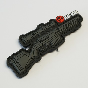 Ares X Amoeba Striker AS-02 PVC Patch - Black