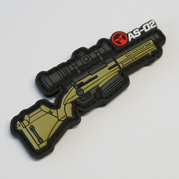 Ares X Amoeba Striker AS-02 PVC Patch - Desert