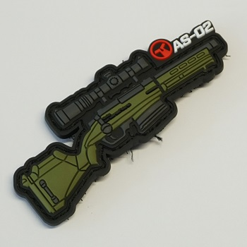 Ares X Amoeba Striker AS-02 PVC Patch - Olive