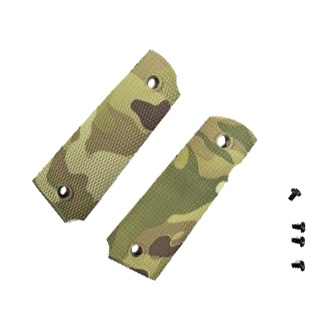 APS Custom Grip Panels for 1911 - MultiCam