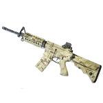 APS M4 RAS (ASR104) Gen. 4 AEG/EBB (Hybrid) - Kryptek Highlander