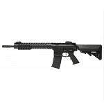 """APS M4 KeyMod 12.5"""" AEG/EBB (Silver Edge) - Black"""