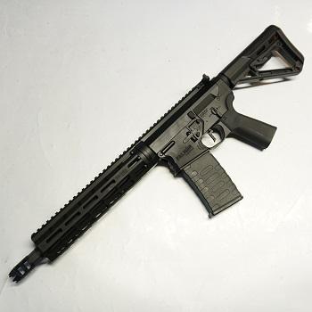 """APS x EMG Arms M4 """"Blitz"""" Ambi RS-3 """"M-LOK"""" SDU 2.0 QSC AEG/EBB - Black"""