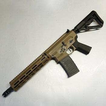 "APS x EMG Arms M4 ""Blitz"" Ambi RS-3 ""M-LOK"" SDU 2.0 QSC AEG/EBB - Desert"
