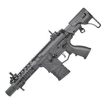 """APS M4 """"Phantom Extremis"""" MK6 6"""" M-LOK AEG/EBB - Black"""