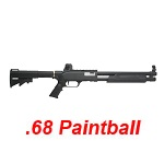 "APS RAM 68 Tactical Shotgun 16"" Cal .68 Paintball (25 Joule) - Black"