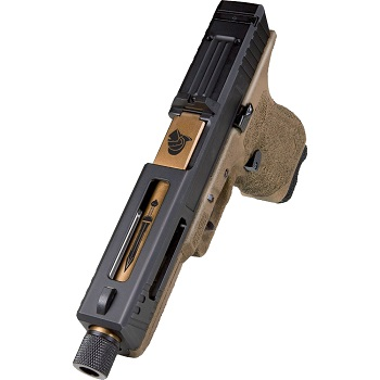 APS x Secutor Gladius 17 ACP Co² Pistole BlowBack - Burned Bronze