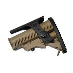 APS GLR-16 Type M4 Stock & Cheek Riser - TAN