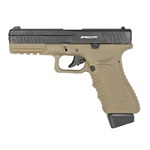 APS ACP G2 Co² Pistole BlowBack - FDE