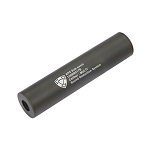 APS Aluminium Silencer CW/CCW Black - 150mm (M)