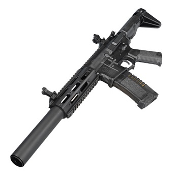 "Ares x Amoeba M4 ""Honey Badger"" Carbine-Lenght EFCS QSC AEG - Black"