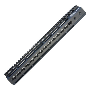 "Ares ""Octa²rms"" Tactical KeyMod Rail (13.5 inch) - Black"
