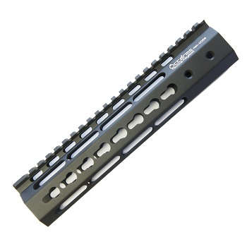 "Ares ""Octa²rms"" Tactical KeyMod Rail (10 inch) - Black"