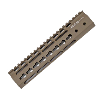 "Ares ""Octa²rms"" Tactical KeyMod Rail (9 inch) - Dark Earth"
