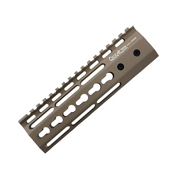 "Ares ""Octa²rms"" Tactical KeyMod Rail (7 inch) - Dark Earth"